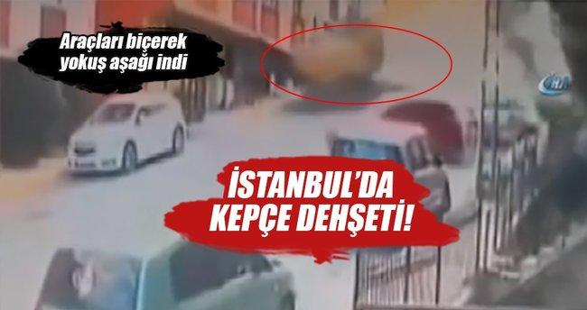 İstanbul'da faciadan dönüldü!