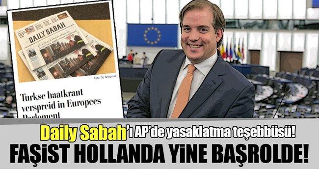 Hollanda'dan Daily Sabah'ı AP'de yasaklatma teşebbüsü