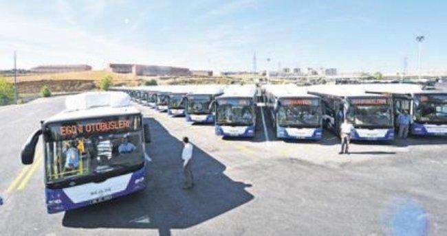 EGO 1 milyon 220 bin yolcu taşıyor