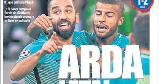 Arda Barcelona'dır!
