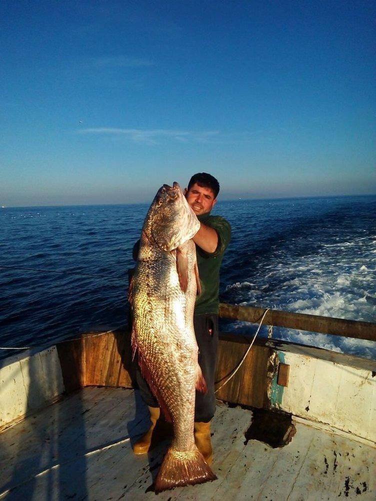 Marmara'da İlk defa balıkçıların ağına granyöz ve lambuka takıldı