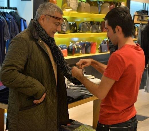Mehmet Ali Erbil'e alışveriş şoku