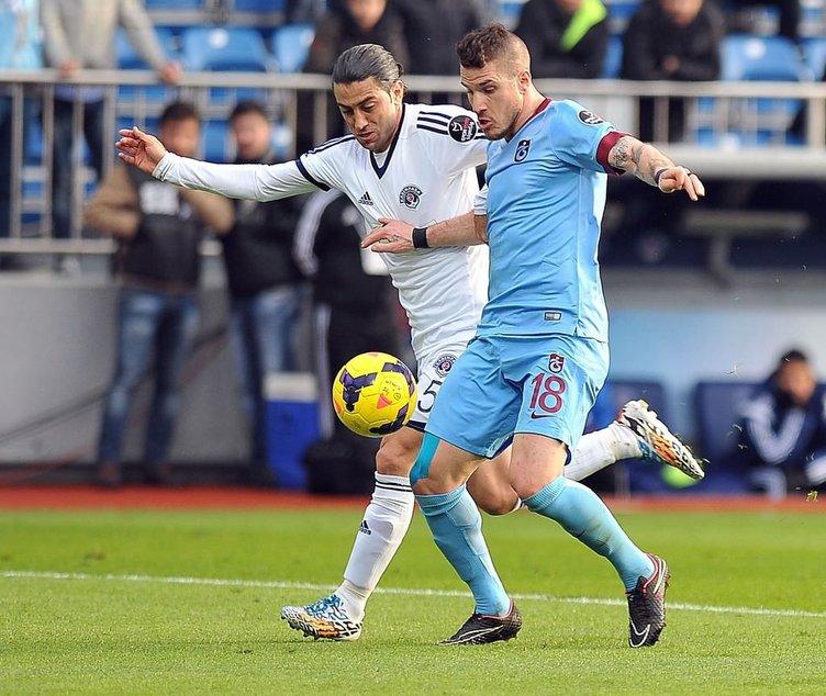 Kasımpaşa - Trabzonspor maçının fotoğrafları