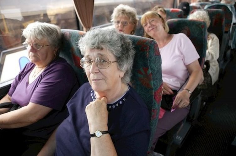 Otobüsle tura giderken dikkat