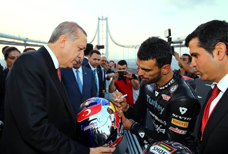 Cumhurbaşkanı ve Sofuoğlu arasında Osmangazi diyaloğu