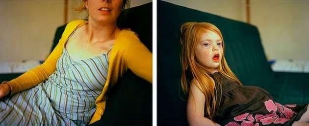Anne ve down sendromlu kızın fotoğraf projesi