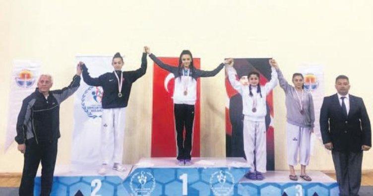 Vildan Kılıç Türkiye şampiyonu oldu