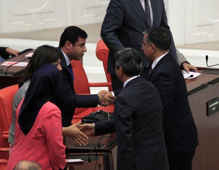 Meclis Başkanı seçiminden görüntüler