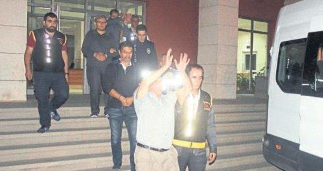 Manisa'da 6 FETÖ zanlısı tutuklandı