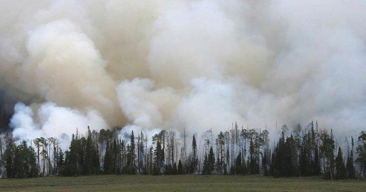 Utah yangını 12'nci günde 184 kilometrekareye ulaştı
