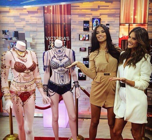 Victoria's Secret'ın 4.4 milyon dolarlık sütyeni!