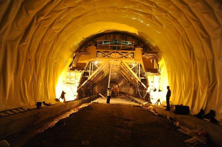 Ovit Tüneli'nde sona yaklaşılıyor