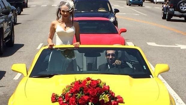 Pelin Sönmez evlendi