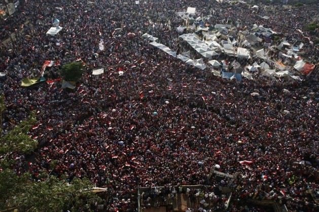 Sosyal medyada Mısır darbesi