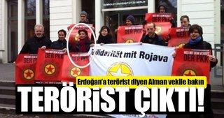 Erdoğan'a 'terörist' diyen vekil PKK sözcüsü çıktı!