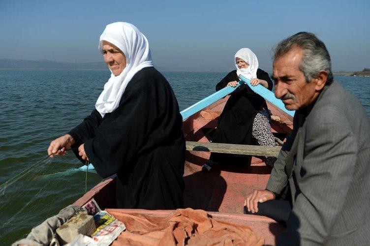 Ulubat Gölü'nün balıkçı kadınları