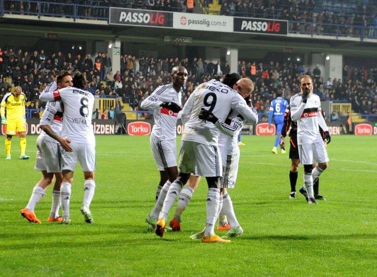 Karabükspor - Beşiktaş maçı Twitter'ı salladı