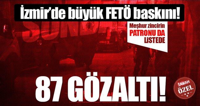 Polis FETÖ derneklerini bastı: 87 gözaltı