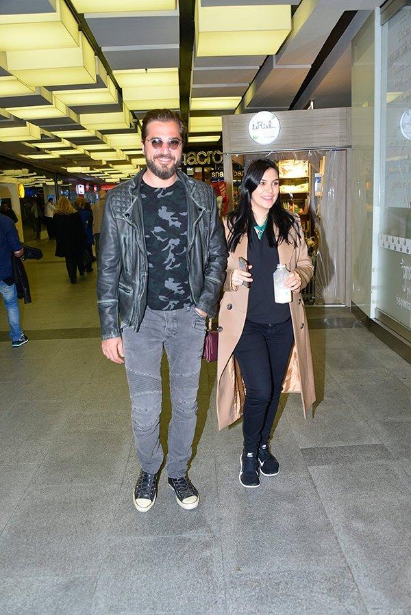 Düzyatan çifti İspanya tatilinde