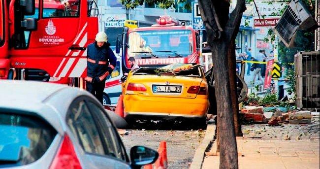 Beyoğlu'nda patlama: 1 ölü