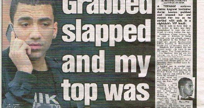 'Yıldız futbolcu garson kıza saldırdı'