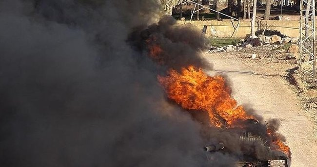İsrail ordusu Suriye'yi vurdu