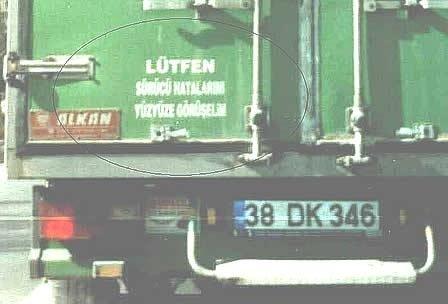 En ilginç kamyon arkası yazıları