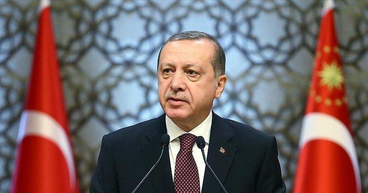 Erdoğan'dan 'Sahil Güvenlik Komutanlığının kuruluş yıl dönümü' mesajı