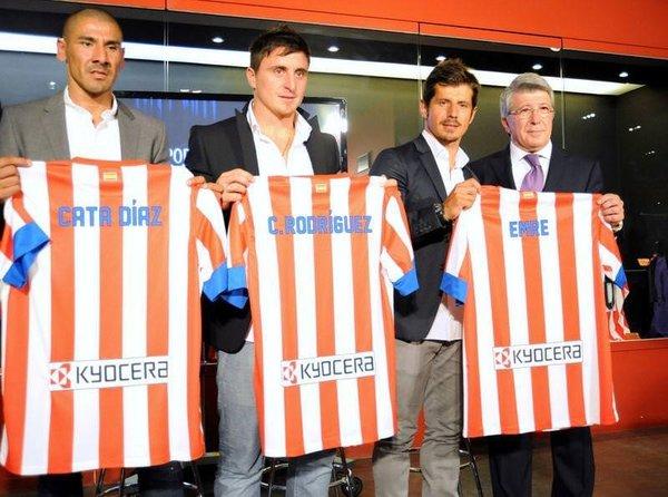 Atletico Madrid, Emre'yi basına tanıttı