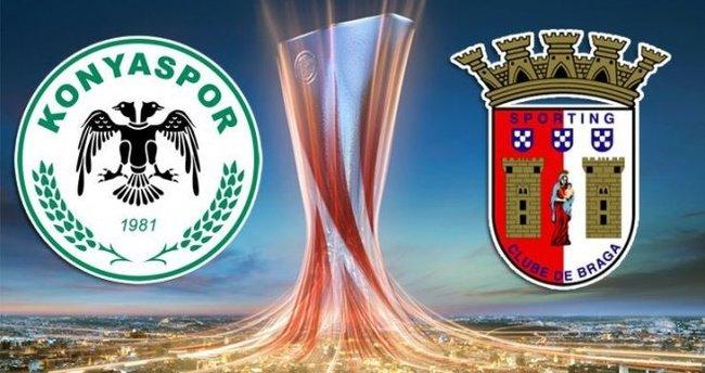 Konyaspor - Braga maçı canlı izle (Şifresiz veren kanallar)