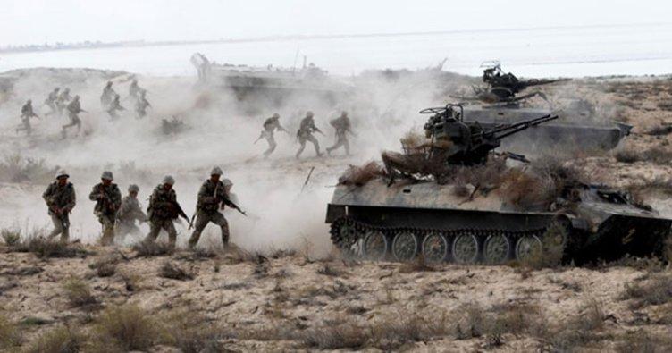 Türkiye ve Azerbaycan'dan ortak askeri tatbikat!