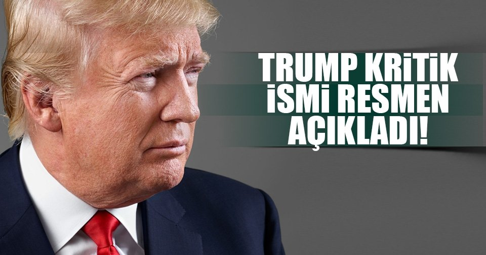 Trump yeni Ulusal Güvenlik Danışmanı adayını açıkladı
