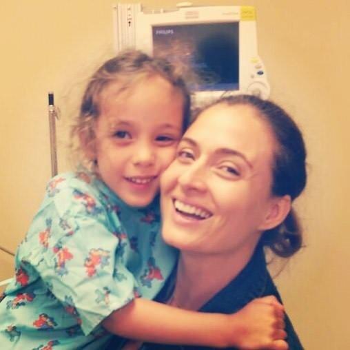 Ceyda Düvenci'nin tedavi gören kızından haber var