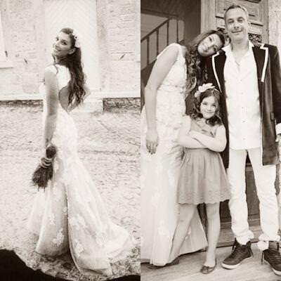 Sessiz sedasız evlendi