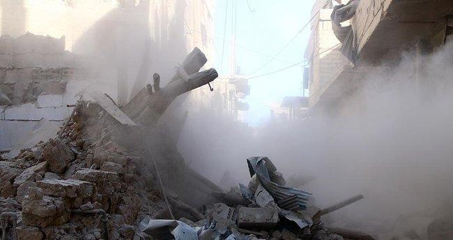 Suriye'de rejim güçlerinden hava saldırısı: 4 ölü, 15 yaralı