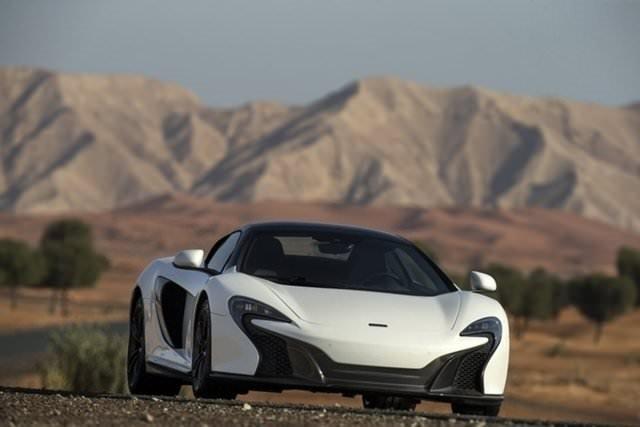 MCLAREN'den özel üretim otomobil!