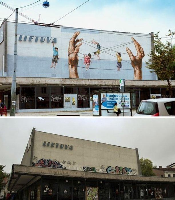 Sokak sanatına muhteşem örnekler!
