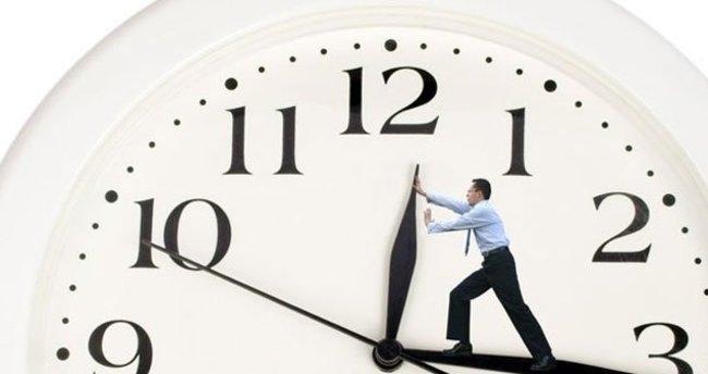 Saatler geri alınmayacak aman dikkat!