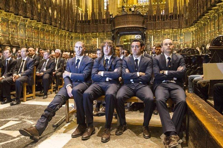 Barcelona'da Tito Vilanova için ayin