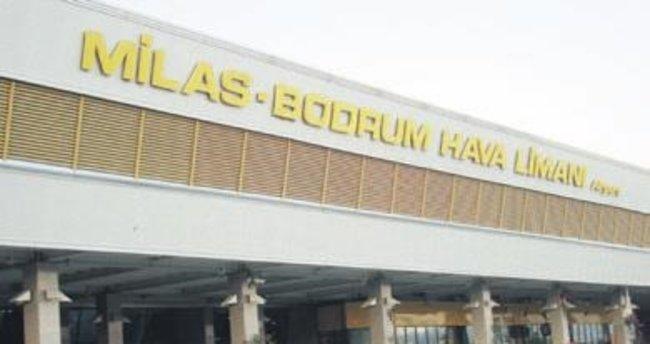 Bodrum Havalimanı'na geçici düzenleme