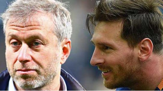 Abramovich'in yatında Messi için görüşme!