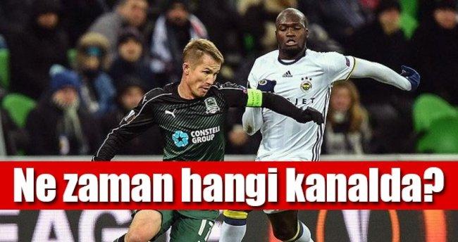 Fenerbahçe Zenit Ne Zaman: Fenerbahçe Krasnodar Maçı Canlı Izle!