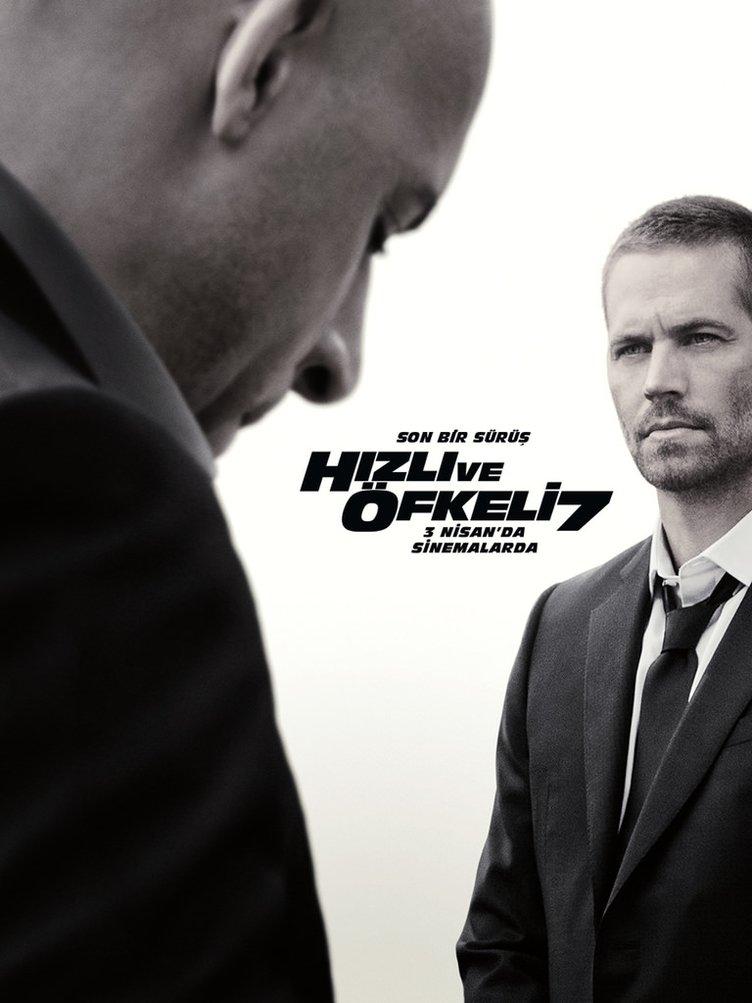 Hızlı ve Öfkeli 7 filminden kareler