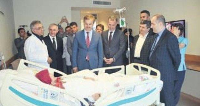 Türkiye'nin en büyük palyatif servisi İnegöl'de