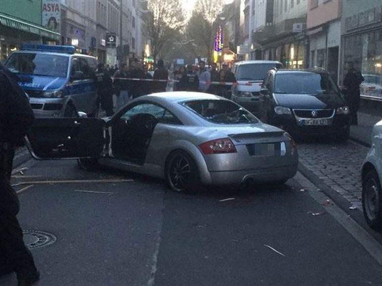 Terör yandaşları Almanya'yı karıştırdı