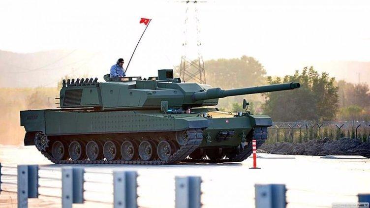 Milli tank 'Altay' seri üretime geçiyor