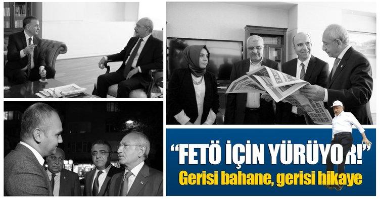 Kılıçdaroğlu FETÖ için yürüyor! Gerisi hikaye