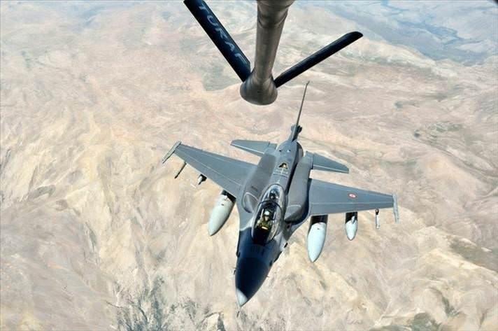 Orgeneral denetime F-16'yla çıktı