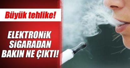 Elektronik sigarada fare zehiri tehlikesi