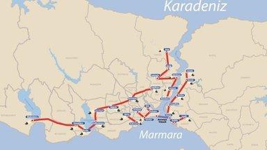 İstanbul'a 145 kilometre tünel!